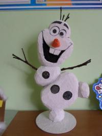 Новогоднее украшение детского сада